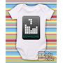 Body Bebê - Tetris Personagem Estiloso Classico Anos 80