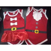 Body Infantil De Natal Personalizado Papai Noel Mamãe Noel