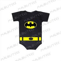 Batman Body Infantil Herois Bebê Bori Baby Kids Personagem