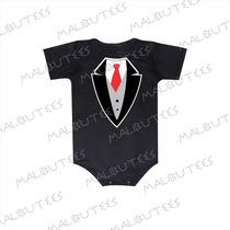Body Infantil Terno Preto Gravata Bebê Batman Personagem