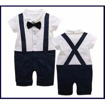 Roupa Social Terninho Body Bebê Infantil Menino Aniversário