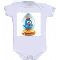 Body Infantil Personalizado Galinha Pintadinha