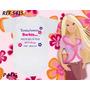 Body Agora Sou A Nova Boneca Barbie Infantil Personalizados