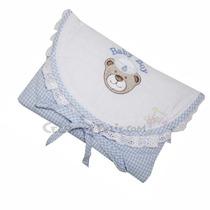 Bolsa Térmica Anticólica Para Enxoval Do Bebê Azul - Biramar