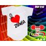 Body Academia Bebe Zumba Macacão Camiseta Whey