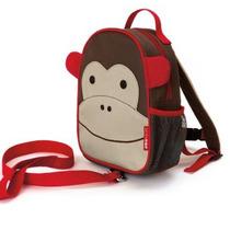 Mochila Zoo Com Cinto - Macaco - Skip Hop Original