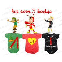 Body Chaves Chapolin Quico Kiko Turma Do Chaves
