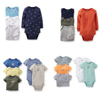 Carters Kit 5 Bodys New Collection Menino Rn A 24m...
