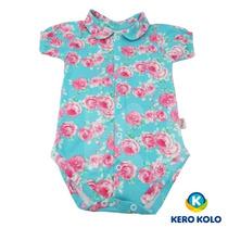 Body Bebê Kero Kollo Luxo Malha 100% Algodão Marca Pettenati