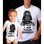 Kit Camiseta Pai E Body Filho Star Wars Darth Vader Geek