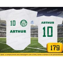 Body Ou Camisetas Times Palmeiras Brasileiro Personalizado