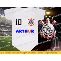 Body Time Corinthians Timão Futebol Personalizado Camisetas