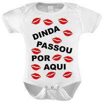 Body Baby Infantil Dinda Passou Por Aqui -
