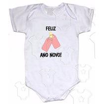 An004 - Body Ano Novo Mamadeiras Menina