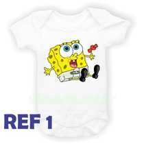 Body Infantil Bob Esponja Baby