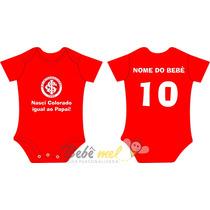 Roupa De Time Para Bebê Personalizada - Internacional