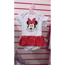 Body Carnaval Fantasia Bebe Personagens Disney Minnie