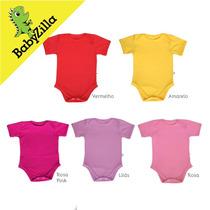 Body Liso Para Bebês - Babyzilla