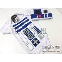 Body Baby R2d2 Star Wars Com Touca