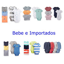 Carters Kit 5 Bodys Rn A 24m Menino Carter
