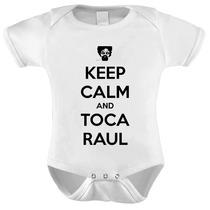 Body Baby Bebê Raul Seixas Keep Calp And Toca Raul