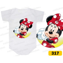 Body Minnie Personagem Personalizados Infantil Bori Bebê