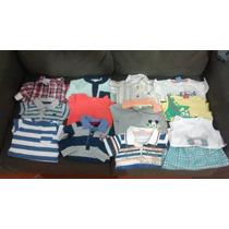 Lote Bebe Menin Body Conjunto Bermuda Camiseta Sandália 26pç