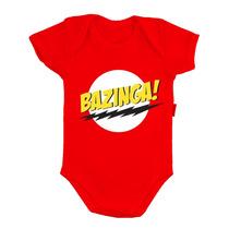 Body Engraçado Bebê Nenem Divertido Bazinga Nerd Geek