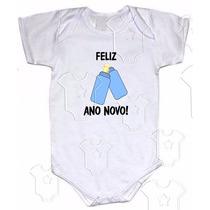 An005 - Mamadeiras Menino Body Ano Novo