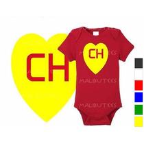 Body Infantil Personalizado Chapolin Colorado Da Hora Herois