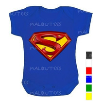 Body Infantil Personalizado Super Man Super Homem Colorido