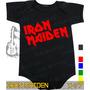 Body Iron Maiden Preto Rock Metallica Frete Gratis