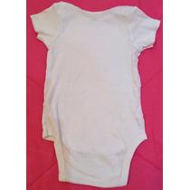 Body Manga Curta Branco - Gerber`s - Tam: 3t - C.686-687-367