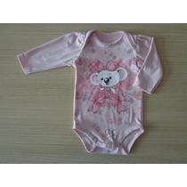 Body Infantil Lilica Ripilica Baby Estampado Rosa