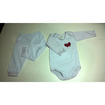 Conjunto Body C/ Calça Bebê - Todos Tamanhos Ref. 160