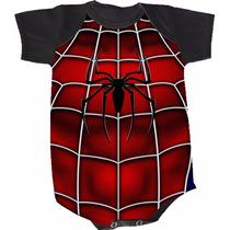 Body Homem-aranha (bori,body De Bebe,body Infantil)