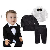 Terno Bebê Body Roupa Infantil Menino Social Batizado Festas