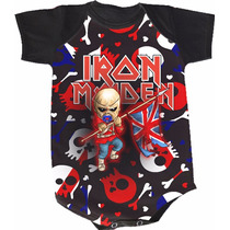 Body Iron Maiden (bori,body De Bebe,body Infantil)