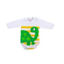 Body Bebê Dino Tam. P, M, G E Eg Getbaby Frete Grátis