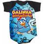 Body Galinha Pintadinha (bori,body De Bebe,body Infantil)