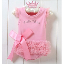 Body De Bebe Princess Ballet Pronta Entrega
