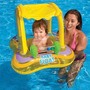 Boia Bote Inflável Com Cobertura Bebê.até 5 Pague 1 Frete