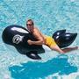 Boia Baleia Inflável Orca Grande 183cm Pvc Laminado Nautika