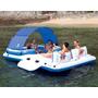 Ilha Inflavel Flutuante Ate 8 Pessoas +cooler- **modelo Novo