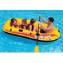 Barco Bote Inflável Club 400 P/ 4 Pessoas Ou 200kg Intex