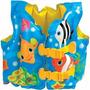 Colete Inflável Salva Vidas Infantil Triplo - Mar E Piscina