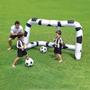 Futebol Portátil Kit 1 Trave Inflável Com Rede + Bola - Novo