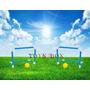 Mini Traves Futebol C/ Bola Portátil Kit 02 - Mini Golzinho