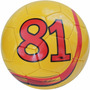 Bola Costurado Futsal Dalponte Since 81 Amarelo Oficial