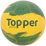 Bola Futebol De Campo Oficial Topper Kv Brasil Verde Amarelo